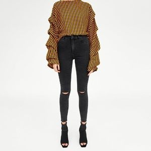 Zara High Rise Jeggings